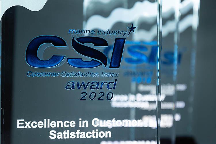 Photo of CSI Award.