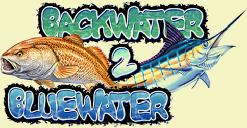 Logo for Backwater 2 Blue Water