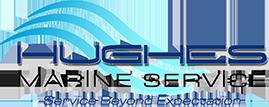 Logo for Hughes Marine Service