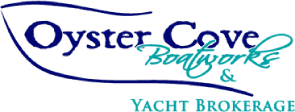 Logo for Oyster Cove Boat Works