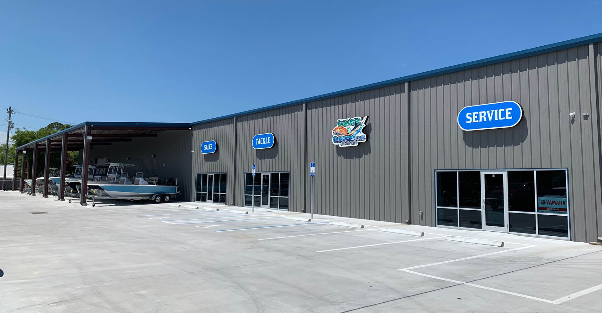 Store front image for the dealership located at St. Augustine, FL