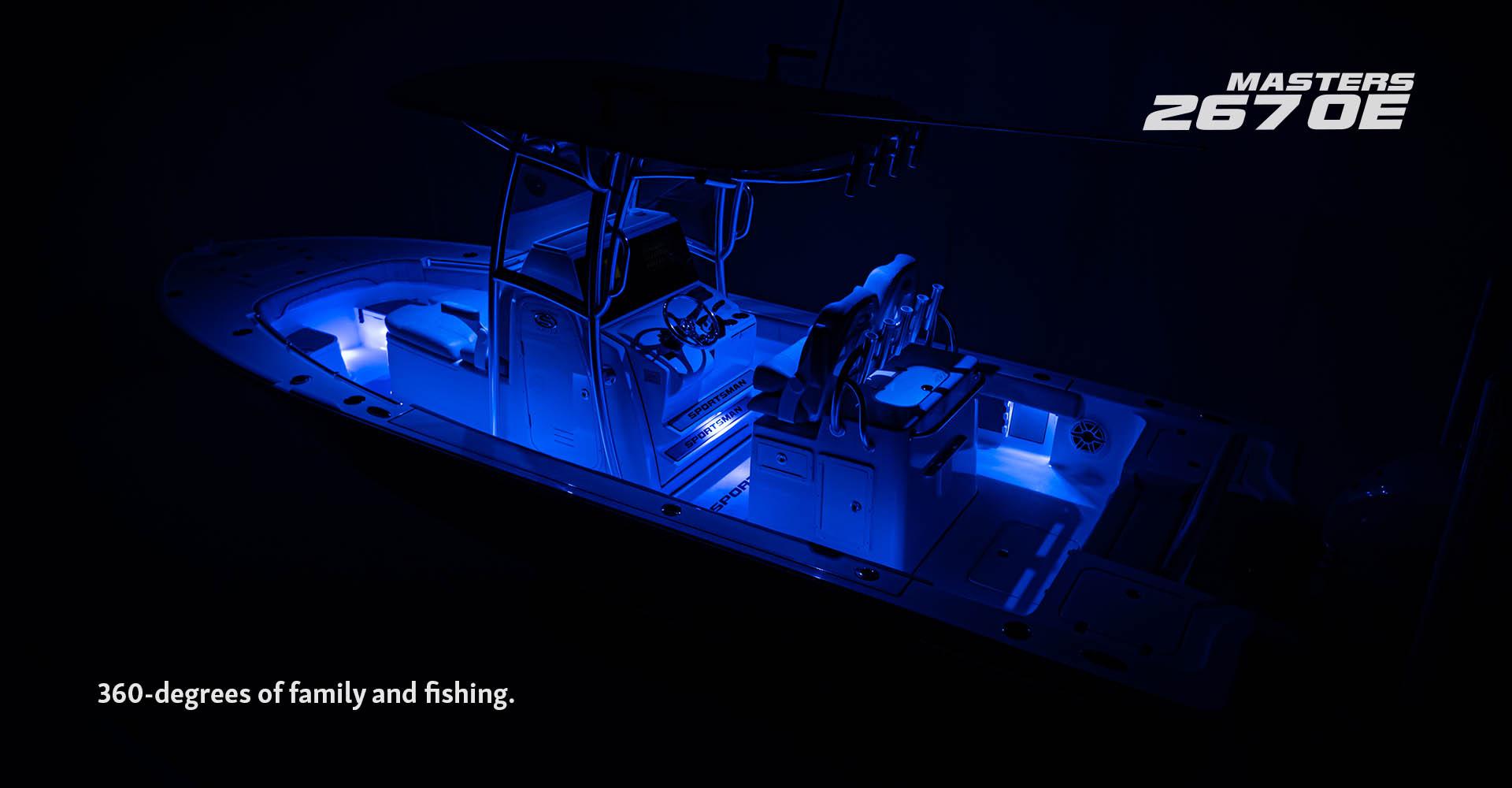 Premier Builder of Center Consoles & Bay Boats | Sportsman Boats