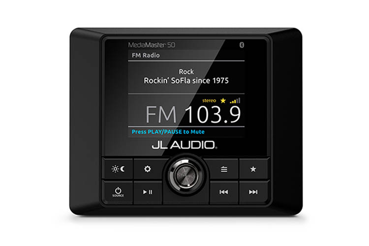 Detail image of JL Audio MediaMaster® MM50 Premium Marine Stereo