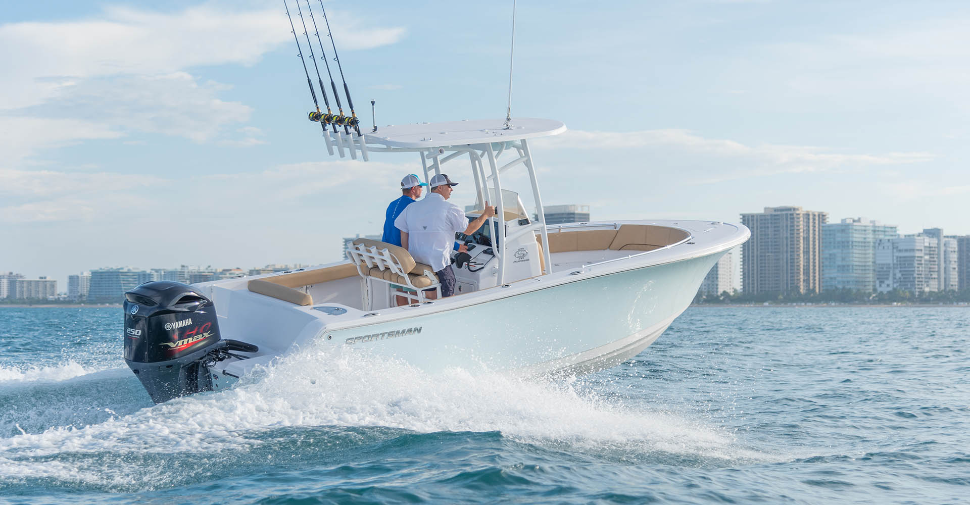 Open Center Console Overview | Sportsman Boats
