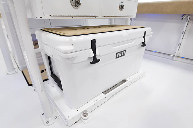 Detail image of YETI® Tundra 65 Cooler w/ Slide Out Track
