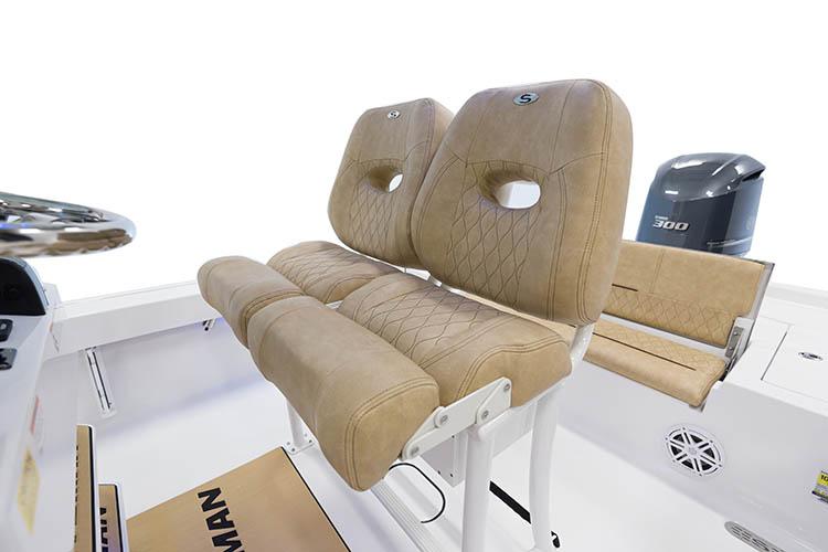 Detail image of Premium Dual Chair LP w/ Flip Up Bolsters