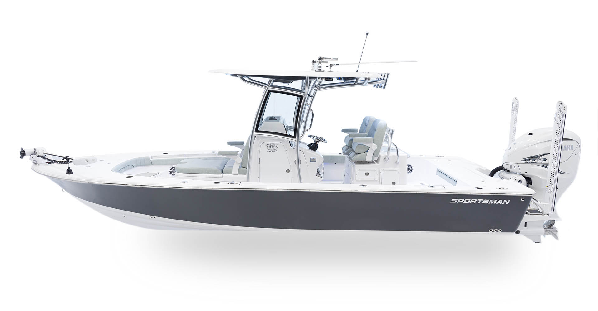 Masters 267OE Bay Boat · Features | Sportsman Boats