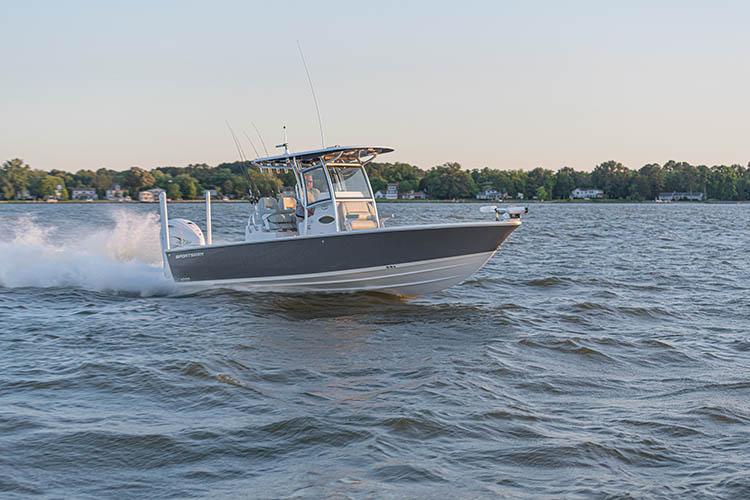 2020 Sportsman Masters 267OE Bay Boat
