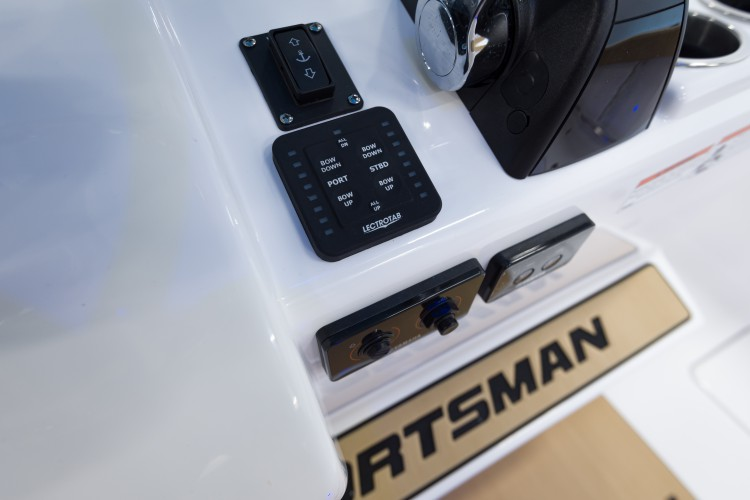 Detail image of Trim Tabs w/ LED Indicator