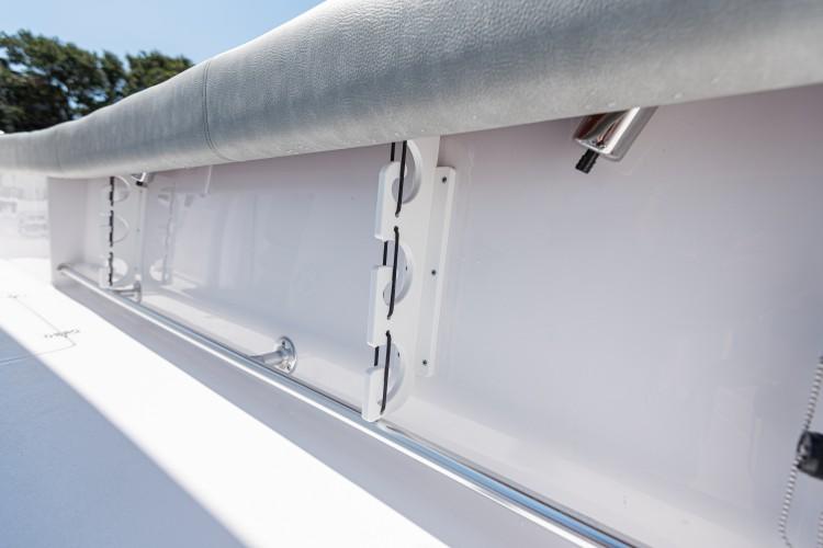 Detail image of Under Gunwale Rod Racks
