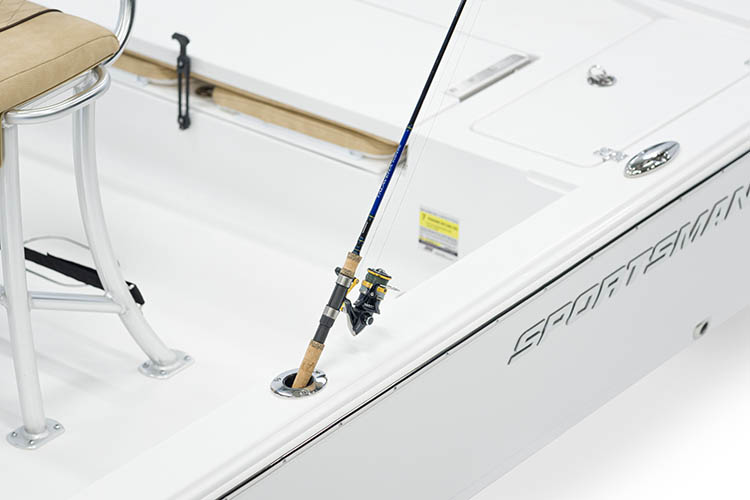 Detail image of Flush Mount Gunwale Rod Holders