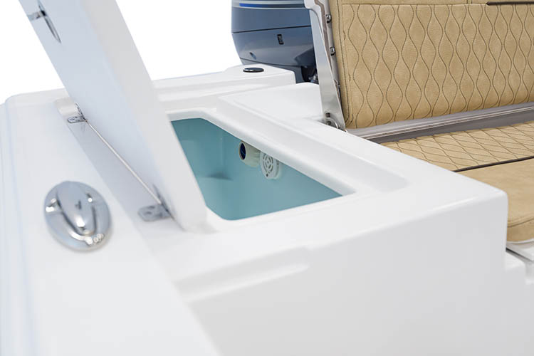 Detail image of 20-Gallon Starboard Rear Livewell