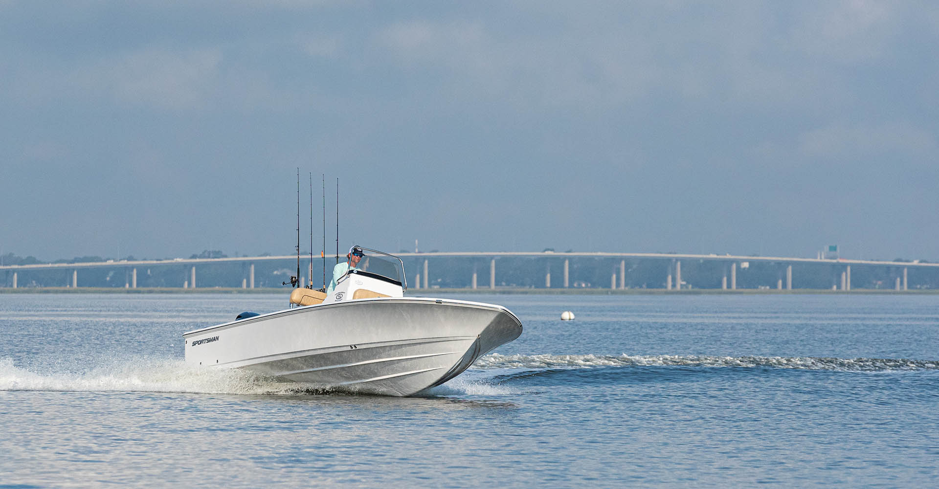 Main image of the Tournament 234 SBX Bay Boat.