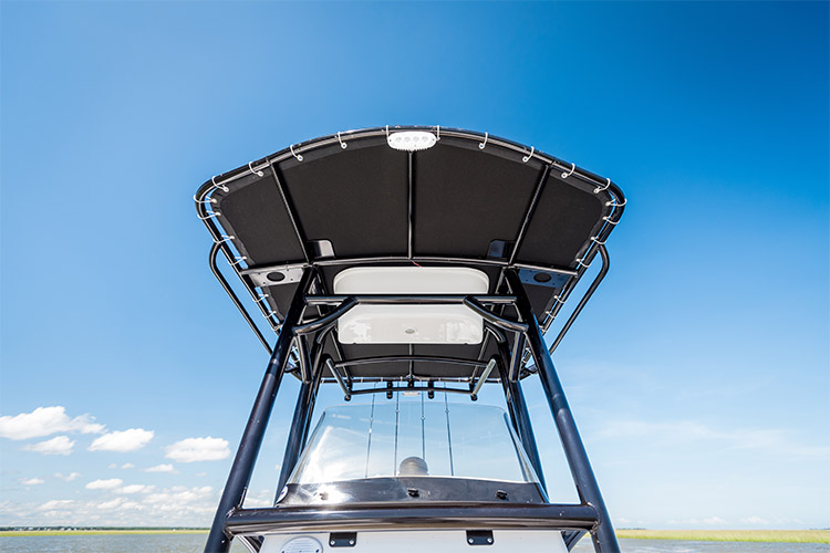 Detail image of Deluxe T-Top w/ LED Lighting