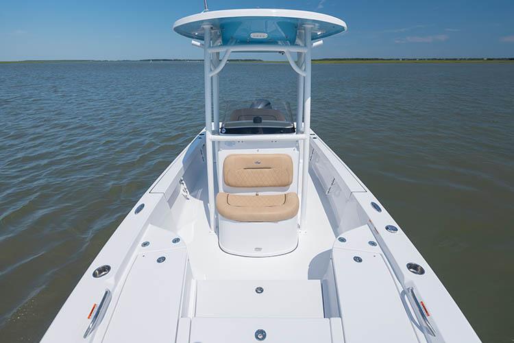 2019 Sportsman Masters 227 Bay Boat