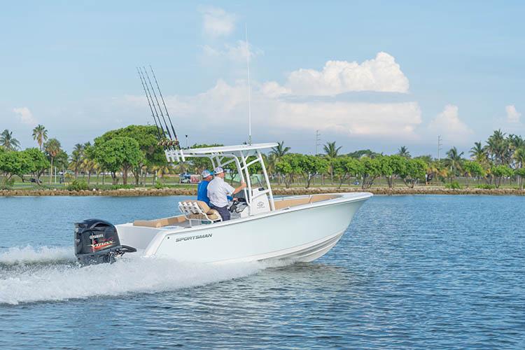 2019 Sportsman Open 232 Center Console Boat