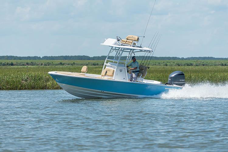 2021 Sportsman Masters 247 Bay Boat