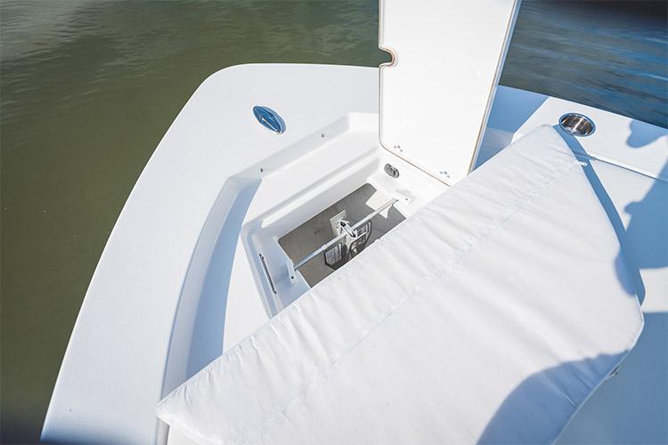 Detail image of Bow Anchor Locker