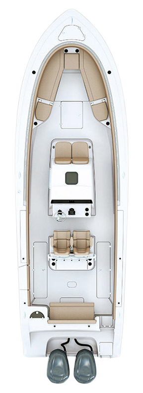 Open 312 Center Console · Specifications | Sportsman Boats