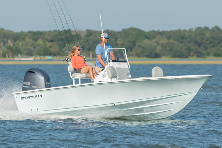 Image of the 2019 Sportsman Masters 207 Bay Boat