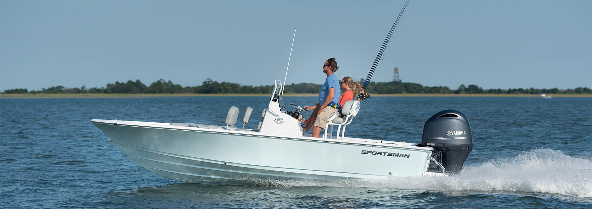 Slide show of images of the Masters 207 Bay Boat. This is image number 2.