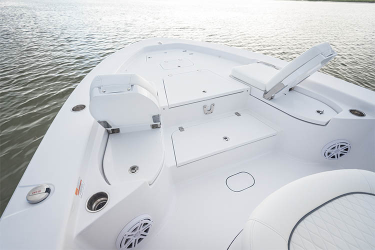 Detail image of Bow Deck & Layout