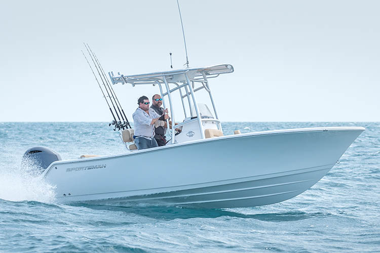 Image of the 2019 Sportsman Open 212 Center Console