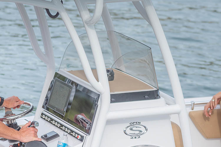 Detail image of Console Windscreen