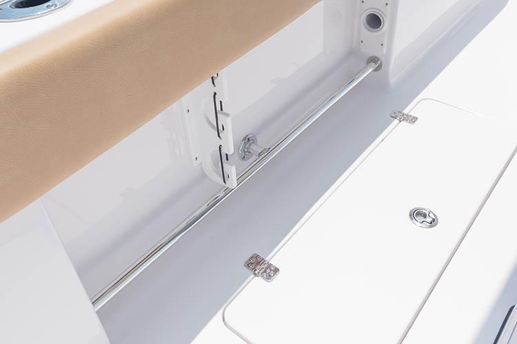 Detail image of Port & Starboard Toe Rail