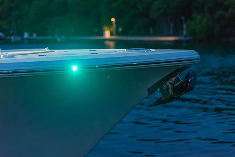Detail image of Rub Rail Navigation Lights