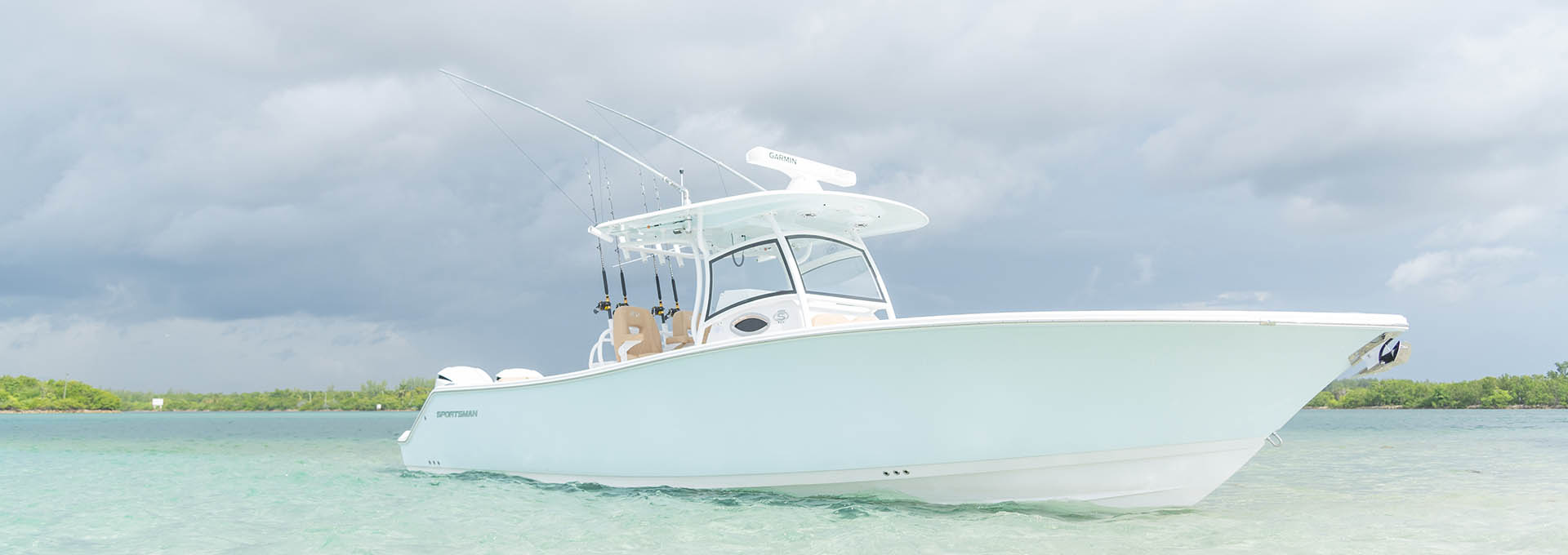 Open 312 Center Console Features Sportsman Boats Led Control Products Lectrotab Electromechanical Trim Tab Systems
