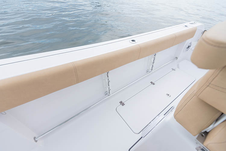 Detail image of Port & Starboard Toe Rail