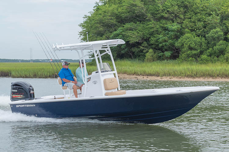 Image of the 2019 Sportsman Tournament 234 Bay Boat