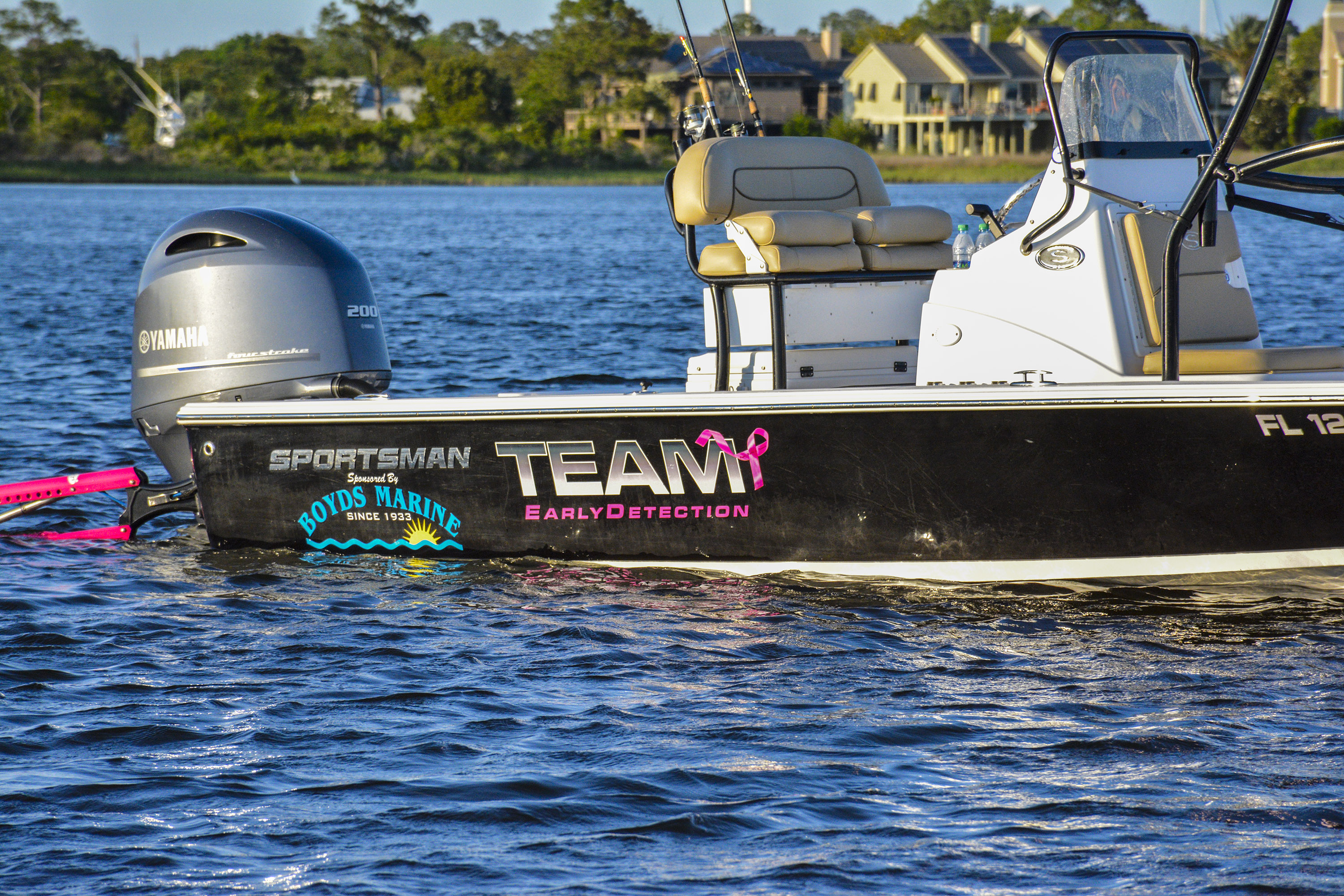 Cover image for the post Sportsman Boats sponsors Captain Hallie Burnett of Team Early Detection