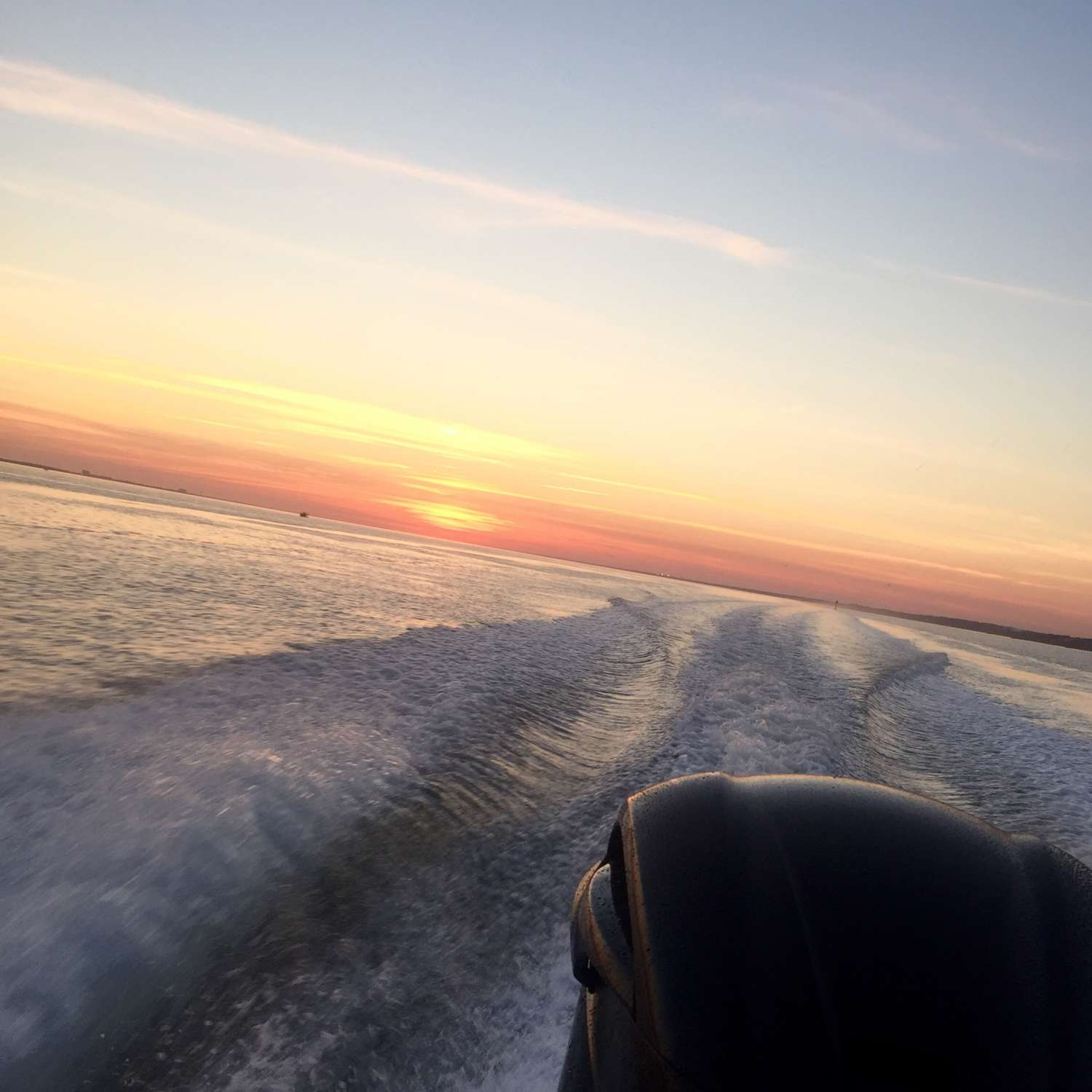 Title: First Night Sunset - On board their Sportsman Open 232 Center Console - Location: Morehead City, North Carolina. Participating in the Photo Contest #SportsmanNovember2015