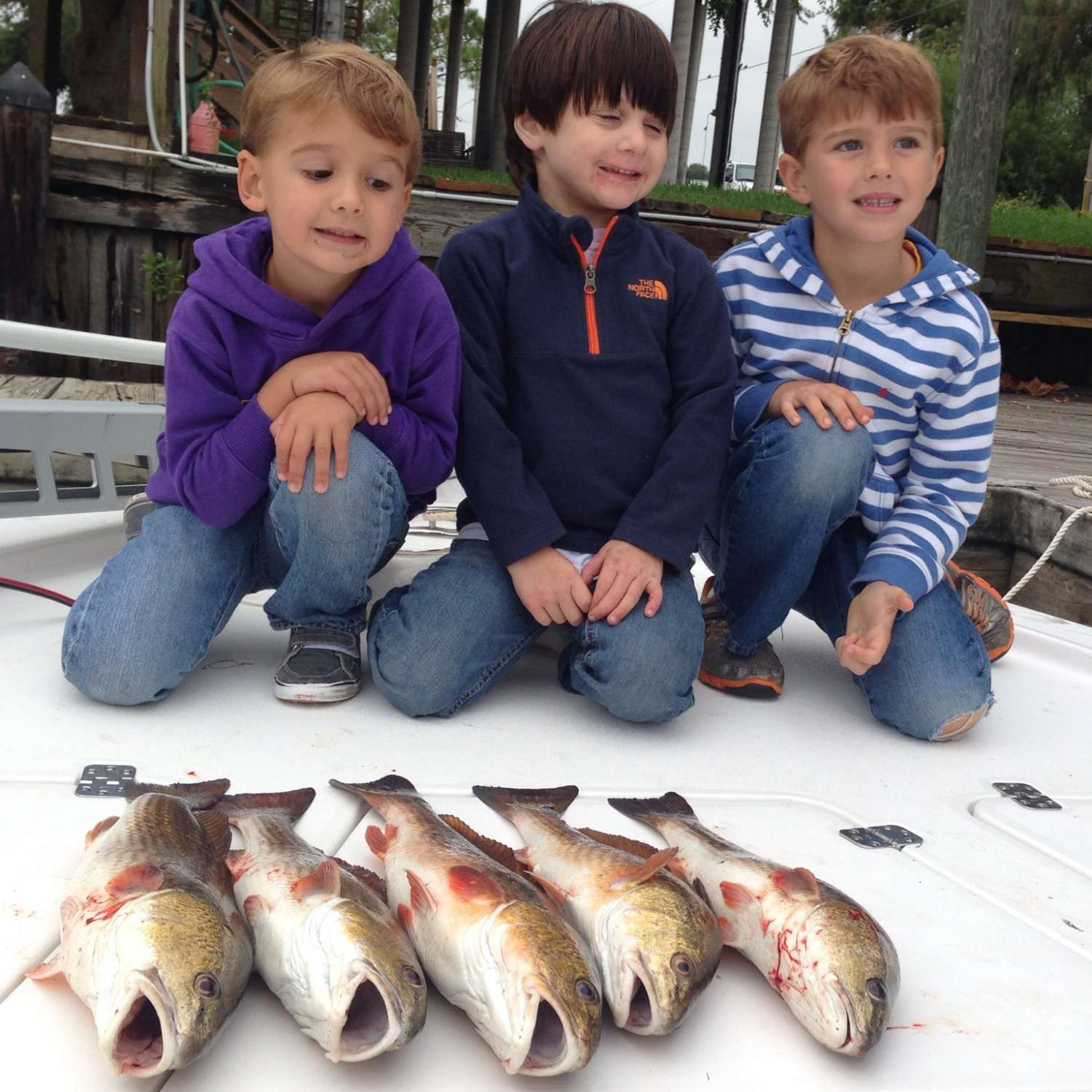 Title: 3 Cousins 214 Tournament - On board their Sportsman Tournament 214 Bay Boat - Location: Metairie, Louisiana. Participating in the Photo Contest #SportsmanOctober2015