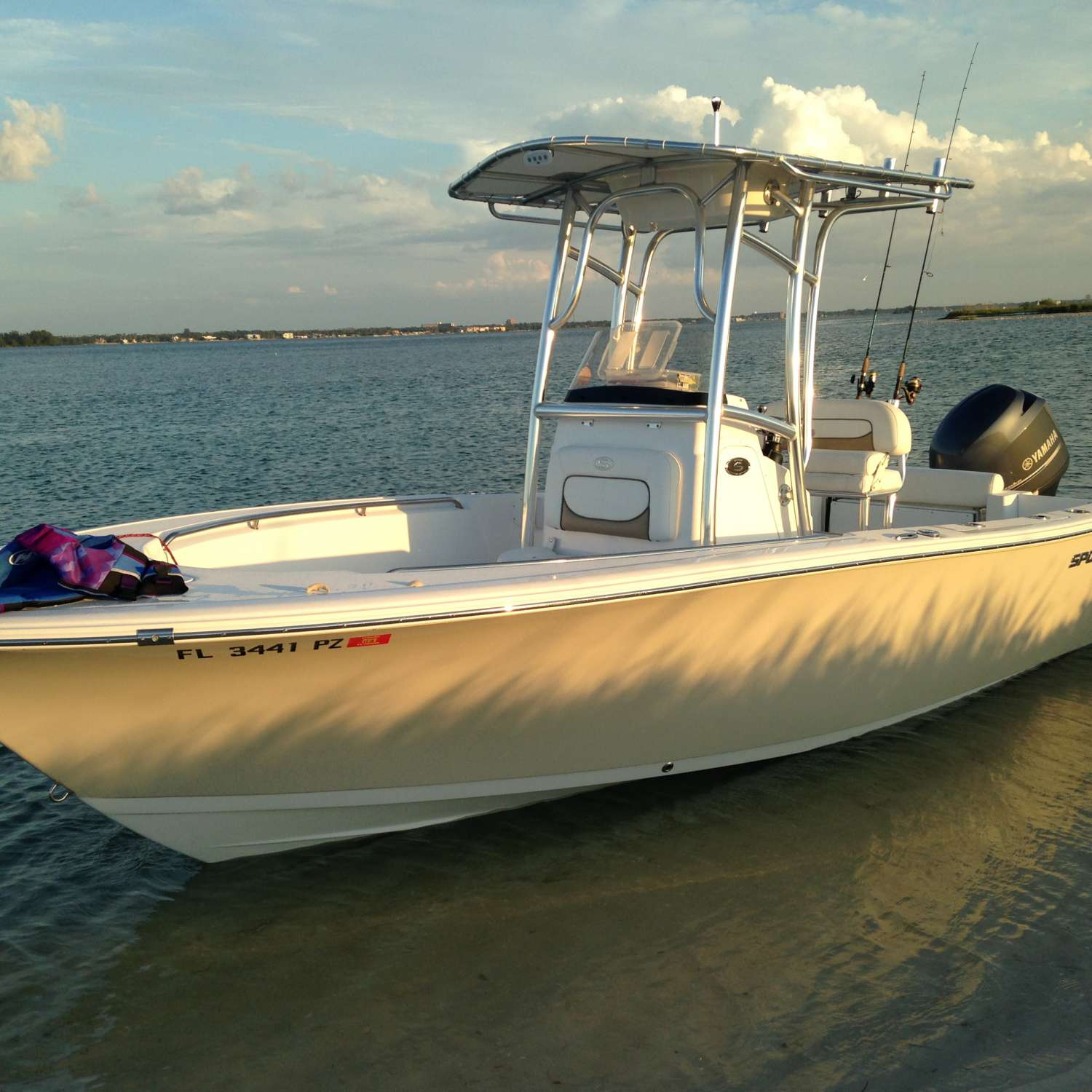 Title: Perfect Time Of Day - On board their Sportsman Open 212 Center Console - Location: Safety Harbor, Florida. Participating in the Photo Contest #SportsmanApril2016