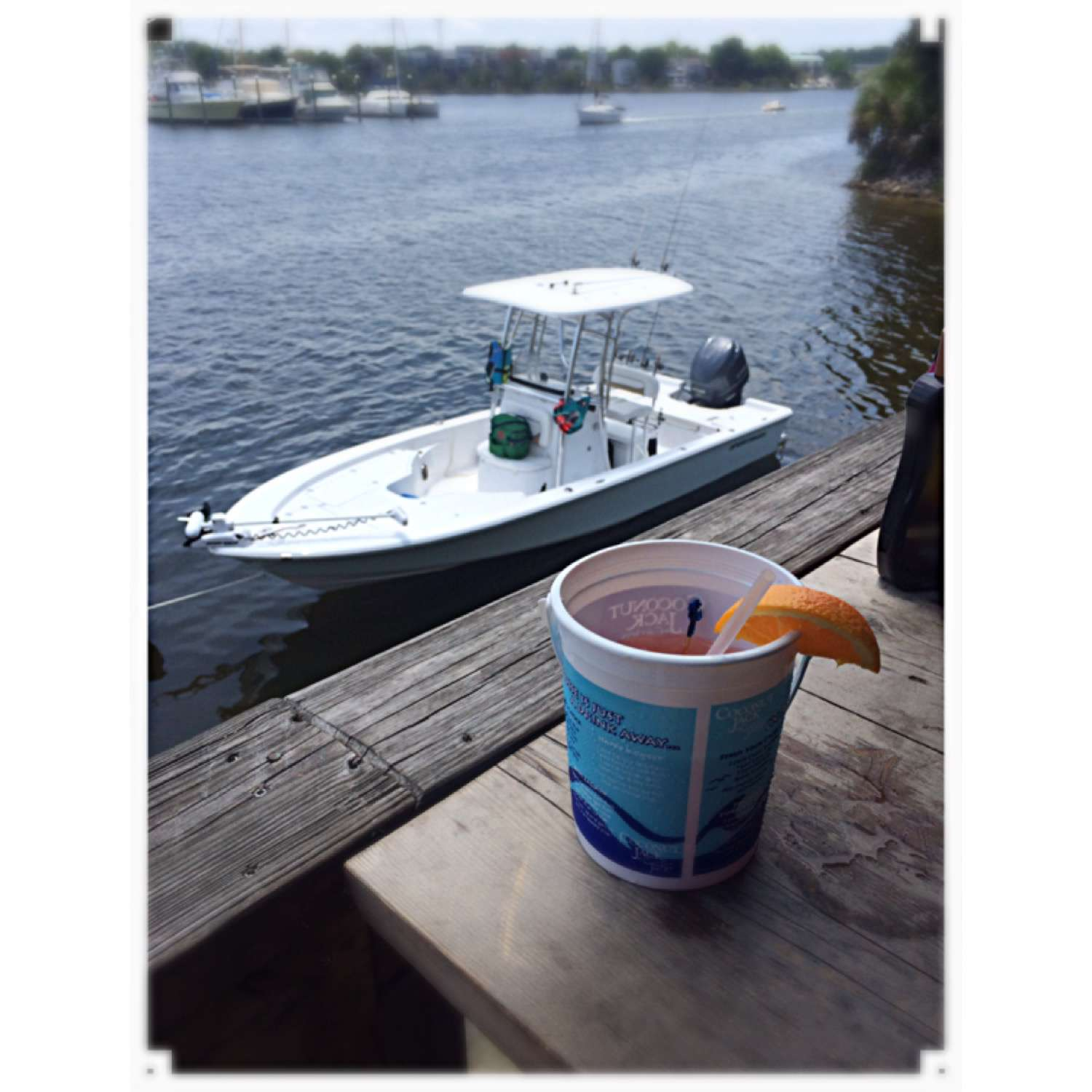 Title: Cheers To A Good Day On The Water! - On board their Sportsman Masters 247 Bay Boat - Location: Cantonment, Florida. Participating in the Photo Contest #SportsmanAugust2016
