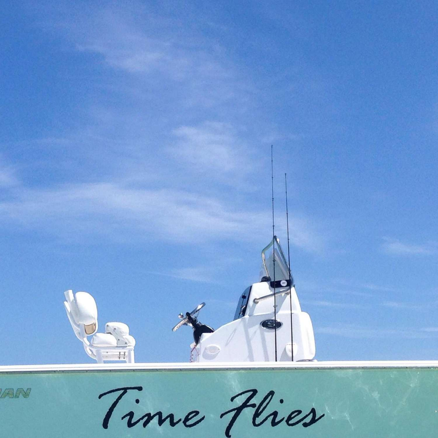 "Title: ""time Flies"" - On board their Sportsman Masters 227 Bay Boat - Location: Pembroke Pines, Florida. Participating in the Photo Contest #SportsmanFebruary2016"