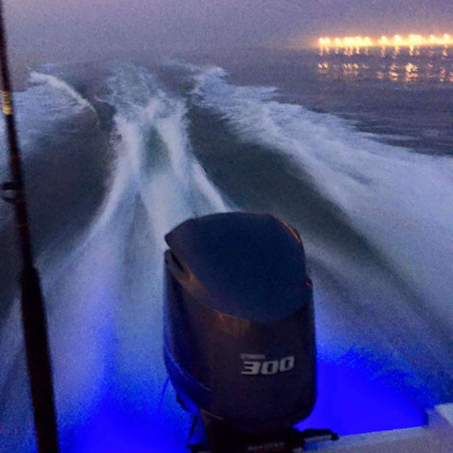 Title: Oc Inlet Zero Dark Thirty - On board their Sportsman Open 252 Center Console - Location: Grasonville, Maryland. Participating in the Photo Contest #SportsmanFebruary2016