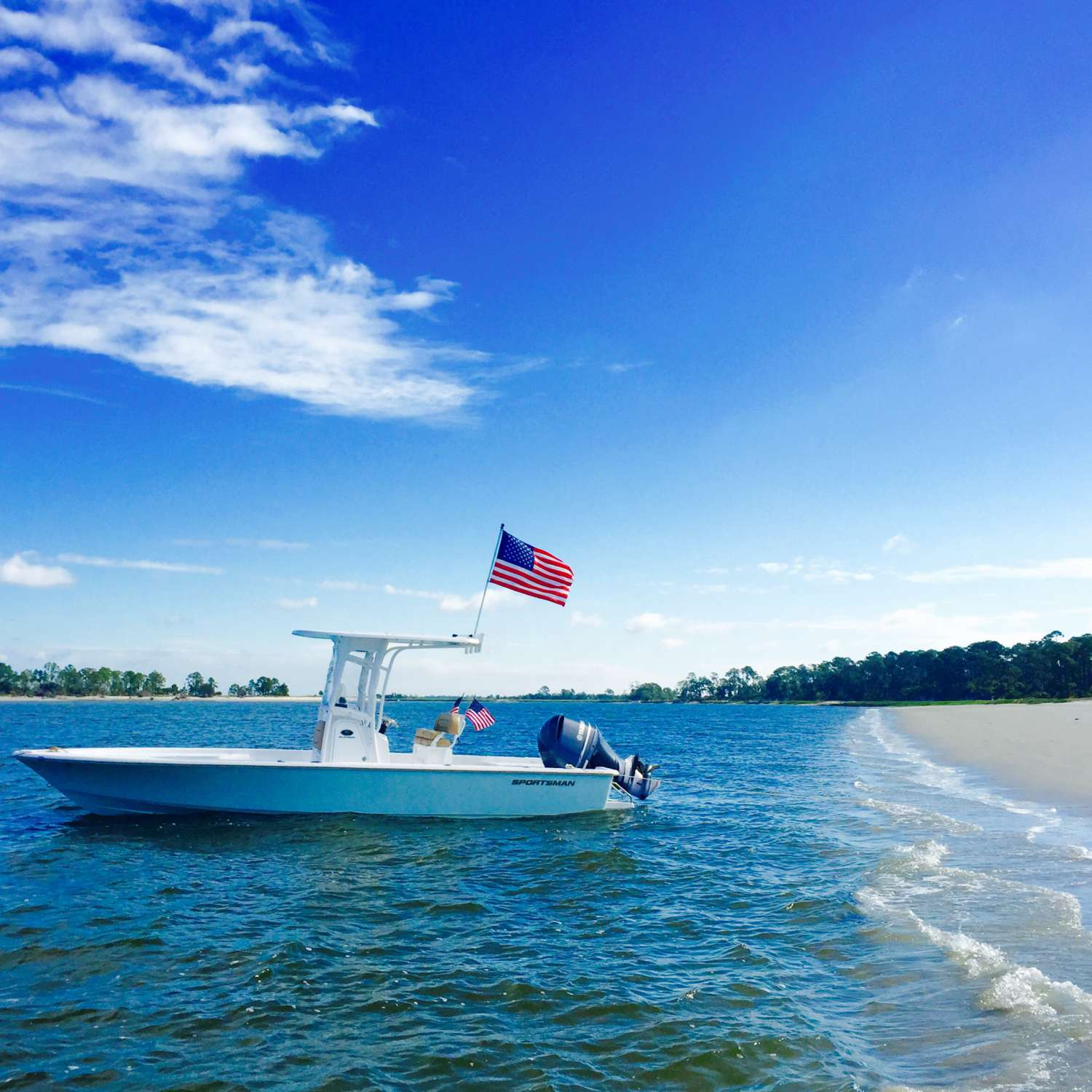 Title: Masters 247 - On board their Sportsman Masters 247 Bay Boat - Location: Savannah, Georgia. Participating in the Photo Contest #SportsmanJune2016