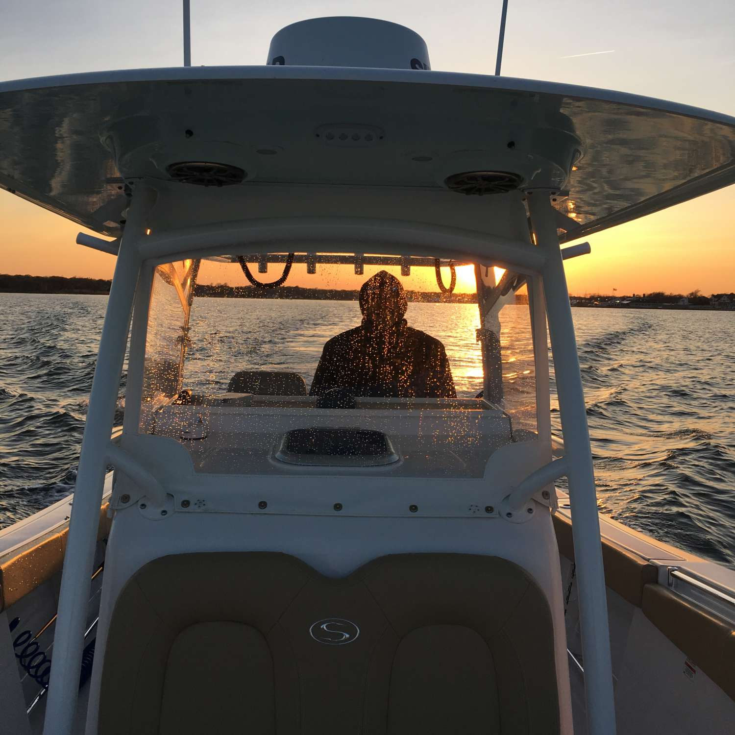Title: Sunset 312 - On board their Sportsman More Than One - Location: Bohemia, New York. Participating in the Photo Contest #SportsmanMay2016