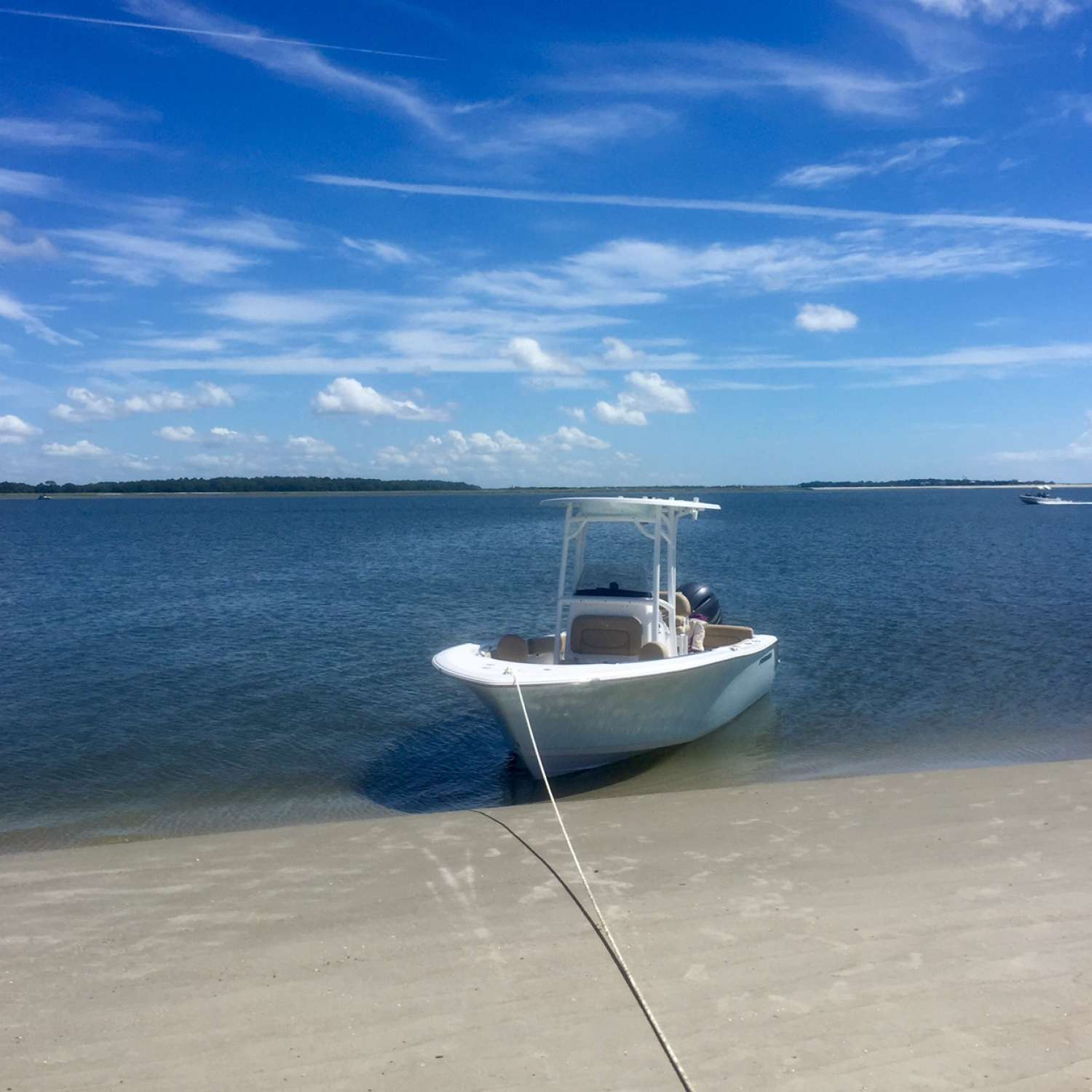 Title: Beach Day - On board their Sportsman Heritage 211 Center Console - Location: Charleston, South Carolina. Participating in the Photo Contest #SportsmanOctober2016