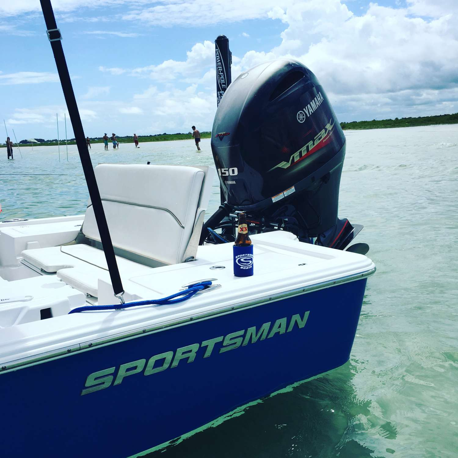 Title: Sunday Funday - On board their Sportsman Tournament 214 Bay Boat - Location: Ormond Beach, Florida. Participating in the Photo Contest #SportsmanSeptember2016
