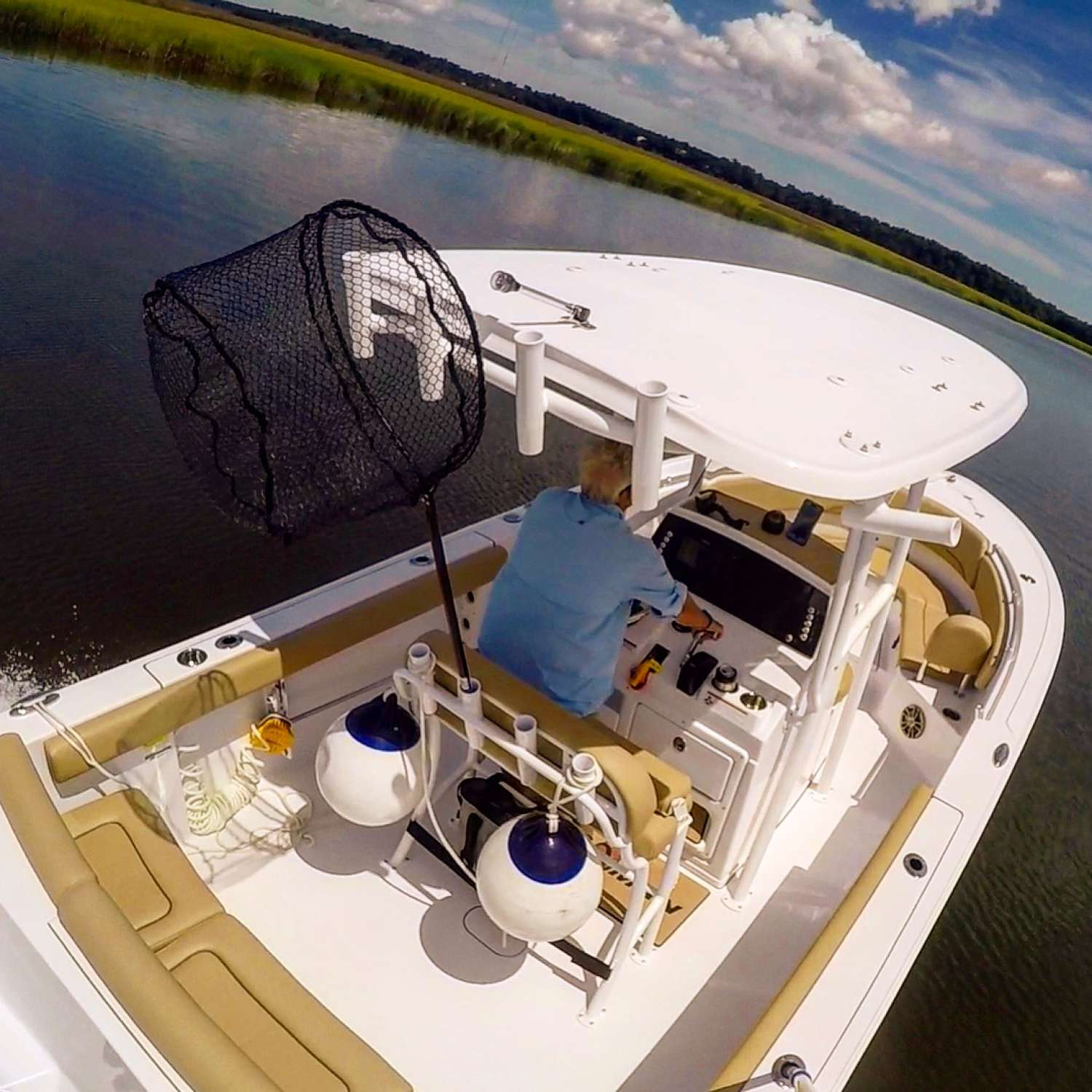 Title: Cruising In The 231 Heritage - On board their Sportsman Heritage 231 Center Console - Location: Charleston, South Carolina. Participating in the Photo Contest #SportsmanAugust2017