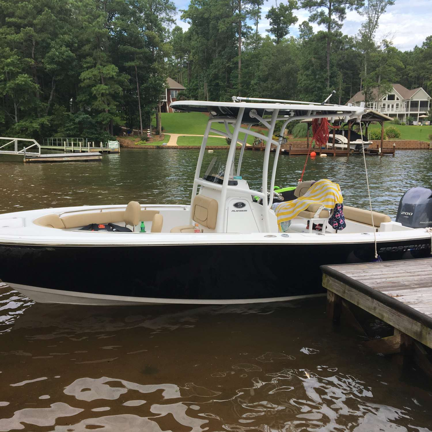 Title: Lake Life - On board their Sportsman Open 212 Center Console - Location: , South Carolina. Participating in the Photo Contest #SportsmanAugust2017