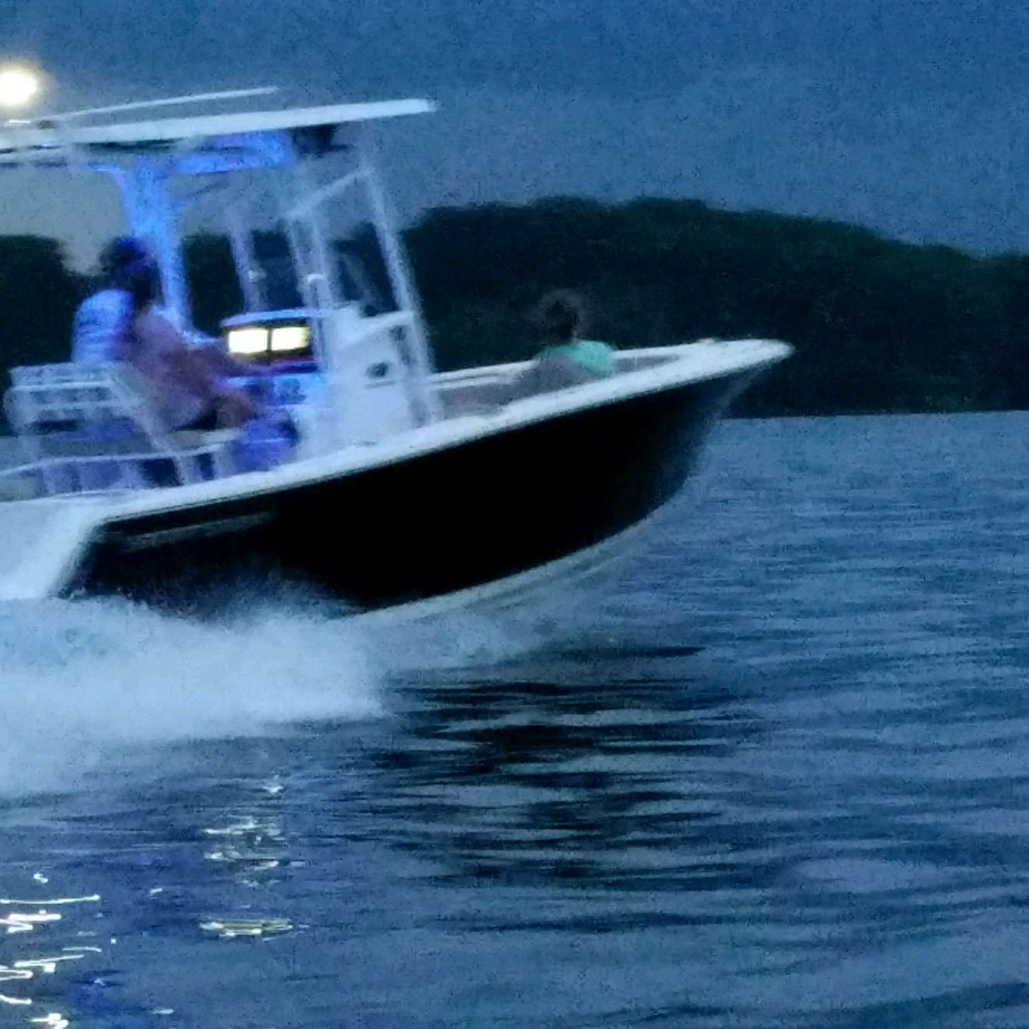 Title: Night Ride - On board their Sportsman Open 212 Center Console - Location: Enoree, South Carolina. Participating in the Photo Contest #SportsmanAugust2017