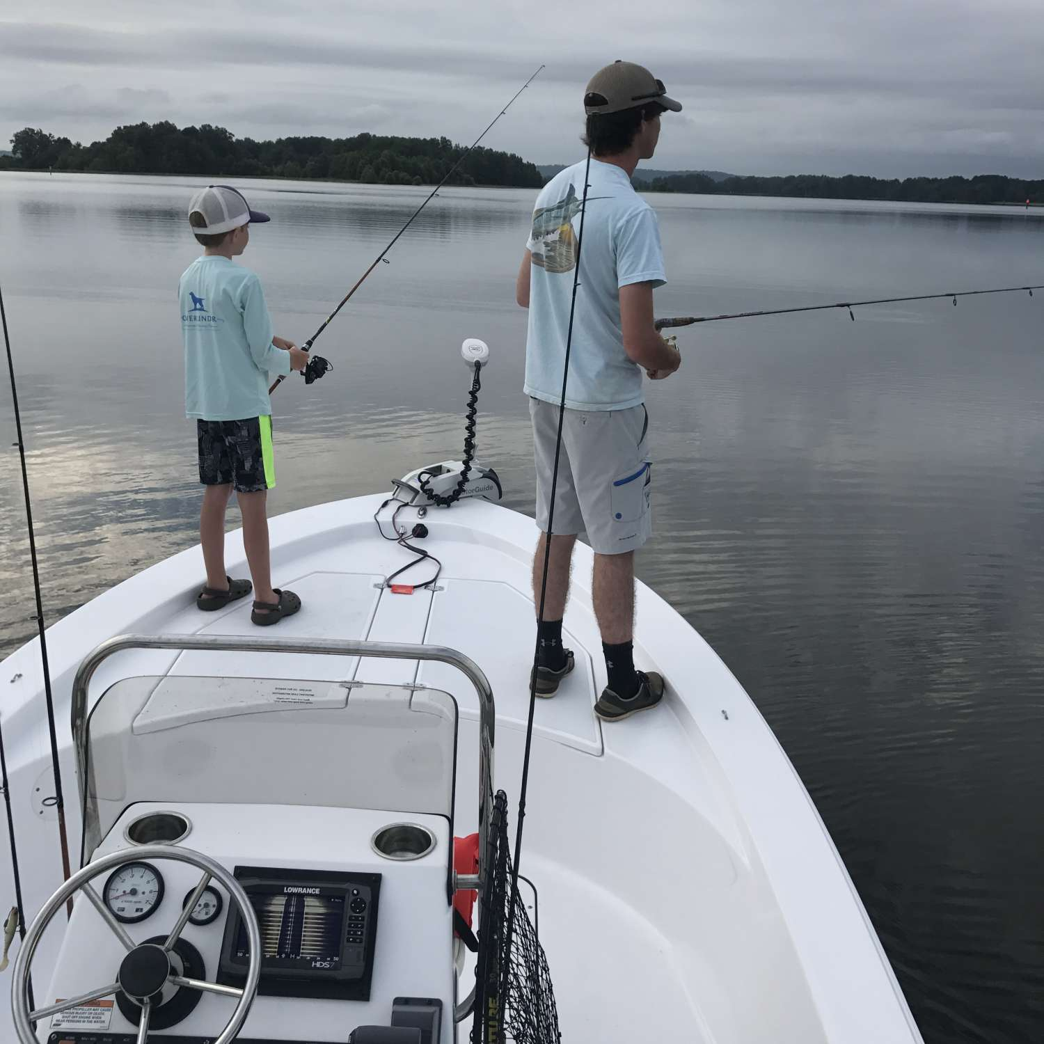 Title: My Boys - On board their Sportsman Island Bay 20 Bay Boat - Location: Clio, Alabama. Participating in the Photo Contest #SportsmanAugust2017