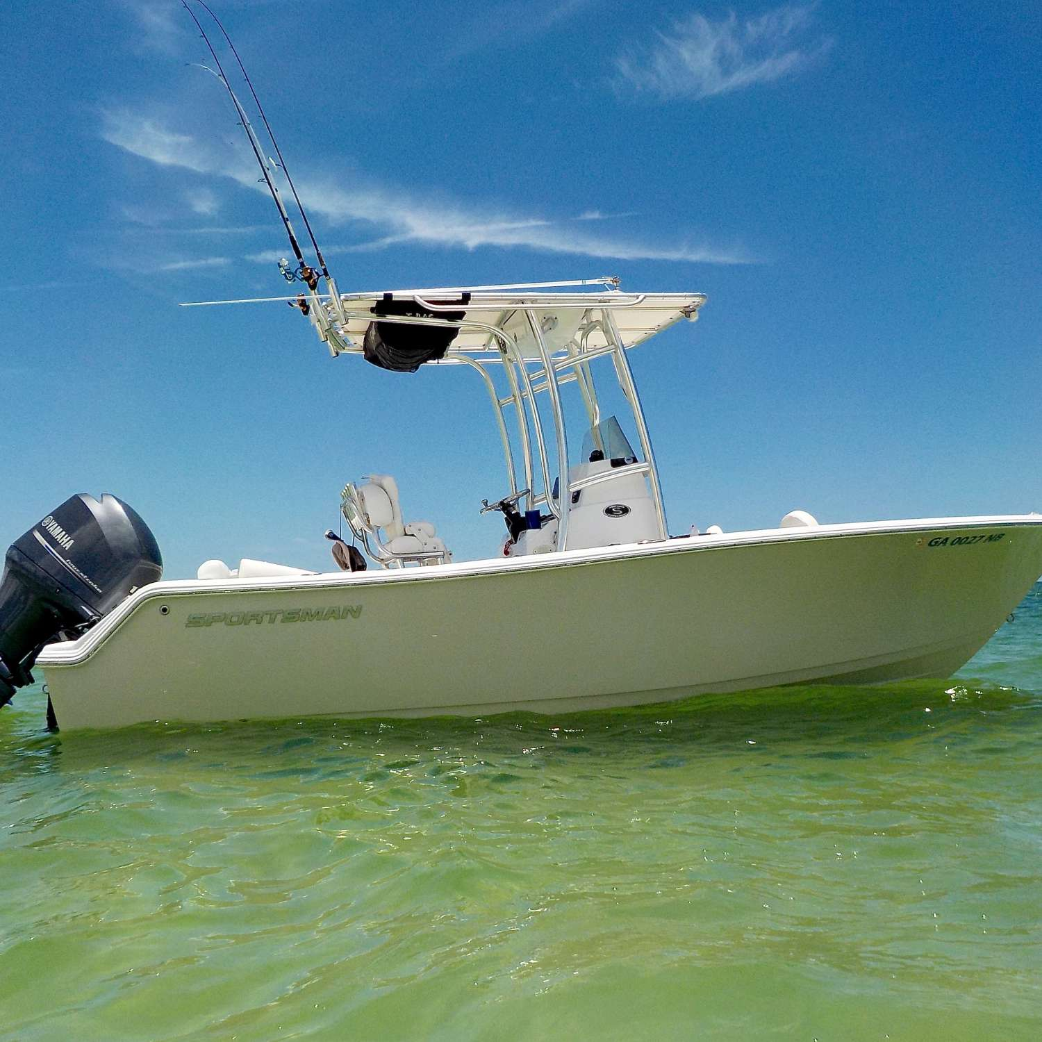 Title: Casey Key - On board their Sportsman Heritage 211 Center Console - Location: Sarasota, Florida. Participating in the Photo Contest #SportsmanAugust2017