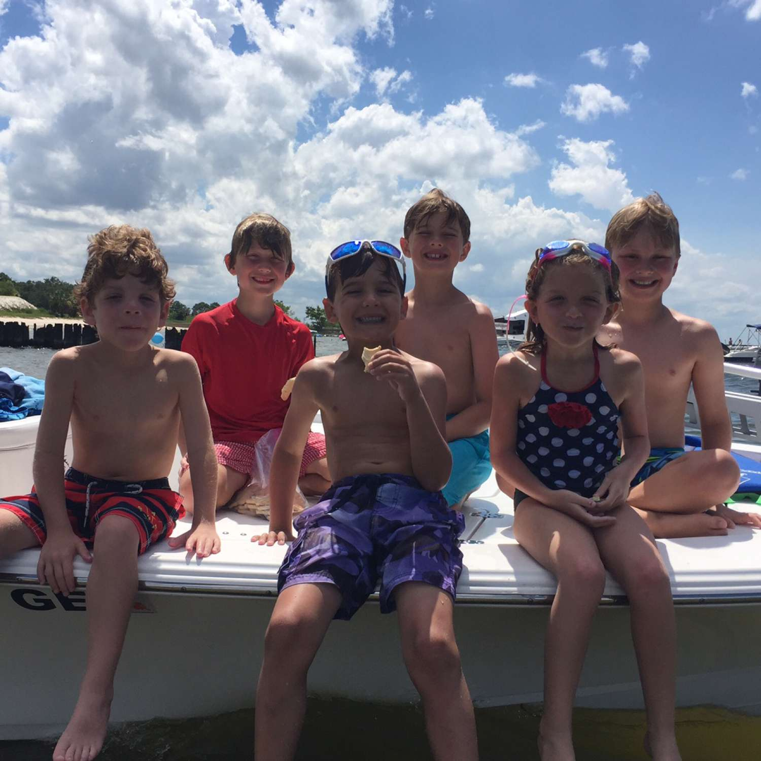 Title: Pontchartrain Beach July 4Th - On board their Sportsman Tournament 214 Bay Boat - Location: Metairie, Louisiana. Participating in the Photo Contest #SportsmanAugust2017